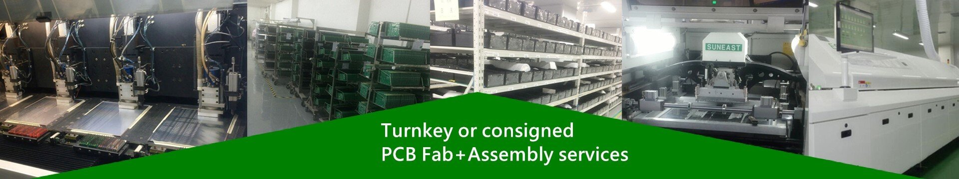 Turnkey consigned pcb fab assembly